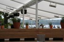300 kvm solskydd hos Restaurang Sjön!